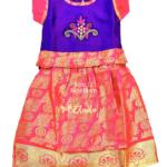 Pattu Pavadai – Pink Size 12 ResizedWeb